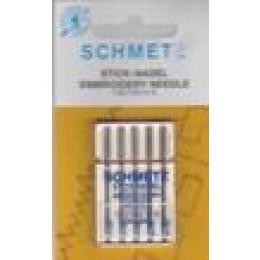 Symaskinenåle, Schmetz Broderinåle, 5-pack #80-30