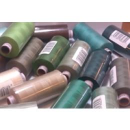 aspo sytråd til symaskiner i grønne og brune farver-30