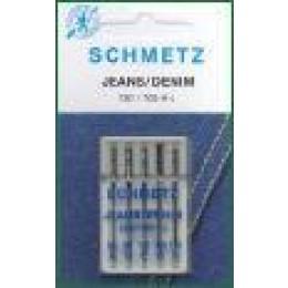 Symaskinenåle, Schmetz jeans nål, 5-pack-30