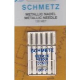 Symaskinenåle, Schmetz metallic, 5-pack-30