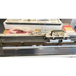 brugt strikkemaskine model 700 med ribapparat esp 60-30