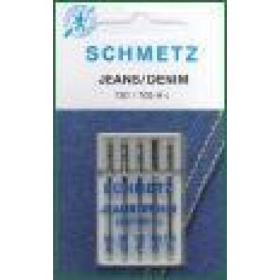 Symaskinenåle, Schmetz jeans nål, 5-pack-3