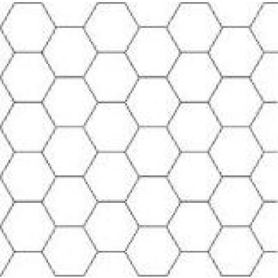 10 ark enkeltsidet hvidt karton (sekskanter) til patchwork, 40x60 cm-3