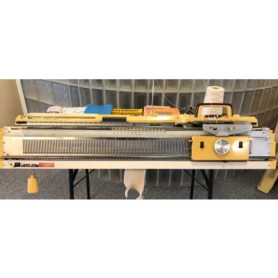 brugt Finstrikker-370 Empisal Knitmaster med patentapparat.-31