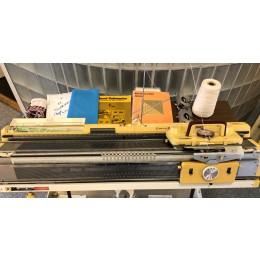 brugt Finstrikker-370 Empisal Knitmaster med patentapparat.-20